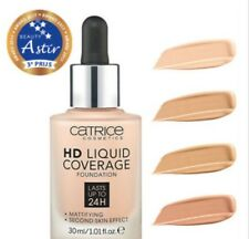 Catrice HD Liquid Coverage Foundation Vegan Natural-Look All Shades