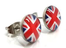 Ear Studs Union Jack Earrings Logo Earring Children Boys Girls