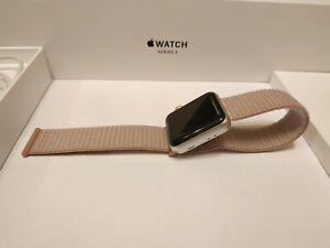 Apple Series 3 38mm Silver Aluminum Case Smart Watch - (MTEY2RU/A)