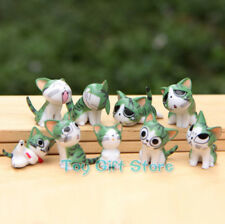 9 pcs Lovely Chi's Sweet Home Cat FIGURES Green