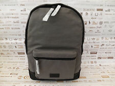 FOSSIL Organizer BACKPACK Grey RUCKSACK Canvas Padded Laptop Bag BNWT RRP£79