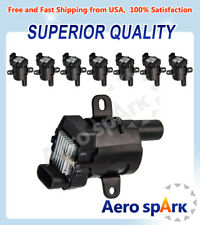 Pack 8 Ignition Coil on Plug UF262 For Buick Chevrolet Isuzu GMC 4.8L 5.3L 6.0L
