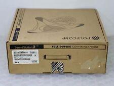 *NEW* POLYCOM 2200-16200-001 - SoundStation 2 Full Duplex Conference Phone