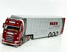 """Scania S highline CS20H 4x2 livestock trailer """"Vaex"""" WSI truck models 01-3035"""