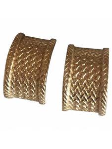 Dior Ohrringe Ohr Clips Gold Vintage