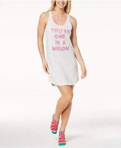 Jenni by Jennifer Moore Intimates Sleepshirt Socks set Whispy Grey XS nightgown
