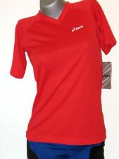 ASICS Chemise pour femmes taille L (44/46) Rouge NEUF Chumba MARCHE SPORT t-
