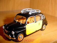 SEAT 800 FIAT 1:43 BARCELONA TAXI CAB 1965