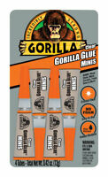Gorilla  High Strength  Glue  All Purpose Adhesive  4 pk