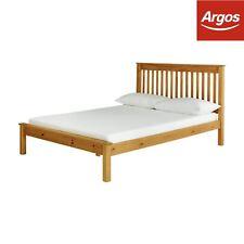 Argos Home Aspley Small Double Bed Frame - Oak Stain