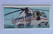 Sikorsky S61 USA Wings Across The World 1962 Lyons Tea Helicopter Card (B2)