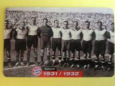 M03/2003 Auflage 2000 Stück Fussball FC Bayern Deutsche Meisterschaft 1931/1932