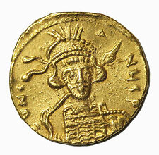 Constantine IV 668-685 AD AV Gold Solidus Ancient Byzantin Coin S.1154