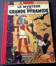 BLAKE ET MORTIMER LE MYSTERE DE LA GDE PYRAMIDE T1 JACOBS EO 1954  LOMBARD BE