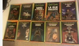 Lot De 10 Livres Chair De Poule