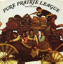 Pure Prairie League Live! Takin' The Stage CD NEW SEALED 2013 Country Rock