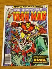 IRONMAN #110 VOL1 MARVEL COMICS JACK OF HEARTS ORIGIN MAY 1978