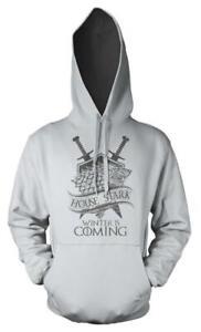 Game Of Thrones House Stark Winter Is Coming Adult Hoodie