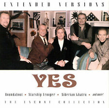 YES - Extended Versions (Live in Concert) CD