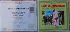 DONIZETTI (CD) Lucia di Lammermoor - PAVAROTTI / SCOTTO / CAPPUCCILLI
