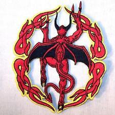 CRAWLING DEMON EMB PATCH devil new jacket biker P460 bikers novelty patches