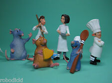 FULL SET RATATOUILLE BULLY FIGURES 6 PIECES FREE SHIPPING!