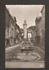 GONFARON (83) SALON de COIFFURE , FONTAINE MONUMENTALE & TOUR DE L'HORLOGE