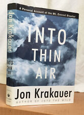 INTO THIN AIR: A Personal Account of the Mount Everest Disaster (Jon Krakauer)