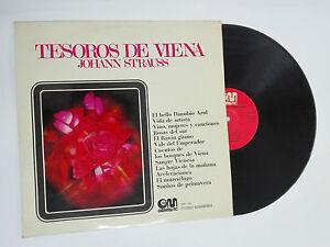 """Johann Strauss Treasures De Vienna Vinyl LP 12 """" Orchestra Von Silber 1971"""