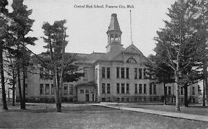 Postcard Central High School in Traverse City, Michigan~123134