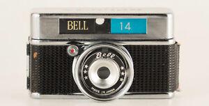 BELL 14, 17,5mm FILM,  14X14mm EXPOSURES SUBMINIATURE CAMERA, C1960