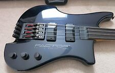 KUBICKI FACTOR 4-STRING FRETLESS BASS-1996-ONE OWNER-EXCELLENT CONDITION!
