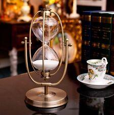 Luxury Metal Home Decor Hourglass Sandglass Table Ornament Decoration 31CM