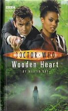 DOCTOR WHO<>WOODEN HEART by MARTIN DAY<>10th DOCTOR<>B.B.C. BOOKS<>HARDCOVER