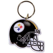 Pittsburgh Steelers NFL Helmet Acrylic Key Ring Keychain