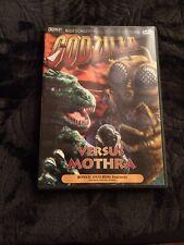Dvd Godzilla Vs Mothra Science Fiction Loaded With Bonuses