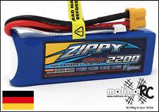 1x ZIPPY Fightmax 2200mAh 2S 20C NEU Lipo Akku 7,4V für Horizon T-Rex und Co TOP