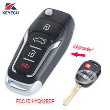 Upgraded Flip Remote Key for Toyota RAV4 Tacoma 2014-2016 / Scion xB 2013-2015