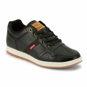CLEARANCE Levi's Mens Oscar 2 Millstone Perf Rubber Sole Casual Sneaker Shoe