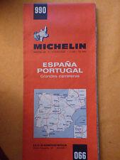 carte michelin 990 Espagne  portugal 1971