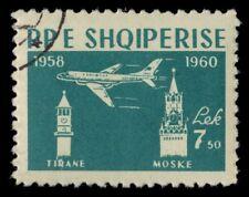 ALBANIA 575 (Mi613) - Moscow-Tirana Flights 2nd Anniversary (pf9568)