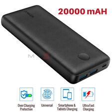 Anker Power Bank 20000mAh PORTABLE PHONE CHARGER 18W 2x USB PowerIQ FAST CHARGE