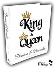Wedding Planner Diary/Journal/Organiser - King & Queen Engagement present / Gift