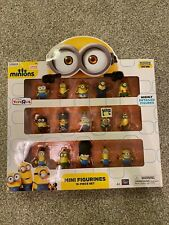 Brand New Thinkway Toys Minions 15 Piece Set Highly Detailed Mini Figurines