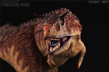 REBOR Carnotaurus Sastrei Crimson King PVC 1/35 Dinosaur Museum Class Model