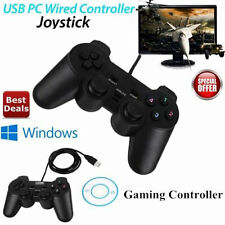 Wired USB Controller for Computer PC Game Controller Gamepad Joypad Joystick
