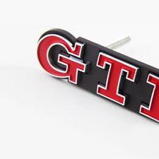 Golf GTI Emblème lettrage logo Avant calandre original chrome Rouge