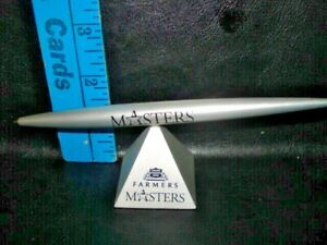 Vintage balanced  pyramid pen ,MASTERS  FARMERS INSURANCE GROUP,