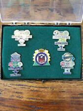 NFL Dallas Cowboys Super Bowl World Champion Lapel Pin Set by Peter David Inc.