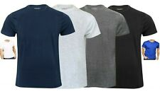 Mens Plain T shirt Cotton Crew Neck Mens T Shirts Tee Top Regular Casual M-6XL